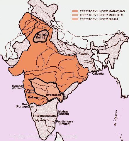 chhatrapati shivaji empire